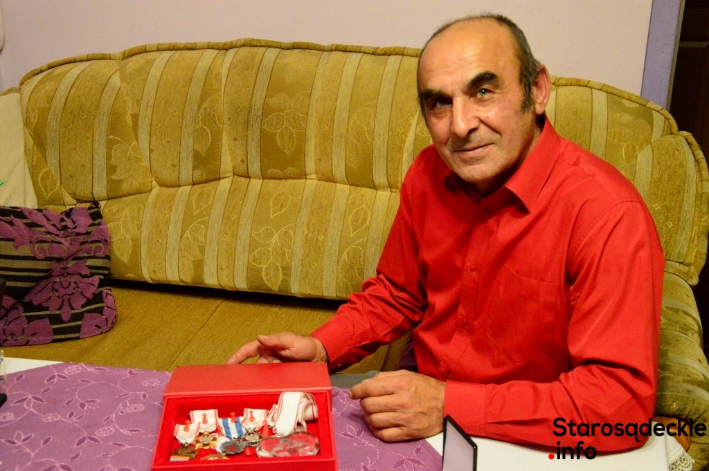 Andrzej Lis Rekordzista Polski W Oddawaniu Krwi
