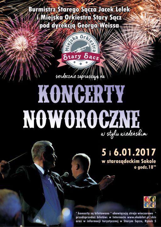 Plakat Koncert Noworoczny4 Starosadeckieinfo