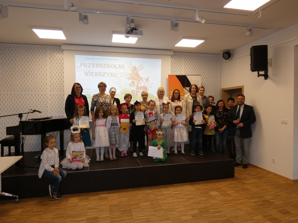Powiatowy Konkurs Recytatorski Przedszkolne Wierszyki